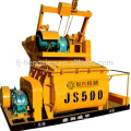 JS500 compulsary twin shaft concrete mixer, concrete mixing machine