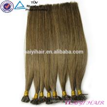 Häutchen ausgerichtet russische 1g / Strang Keratin Fusion flache Spitze Haarverlängerung