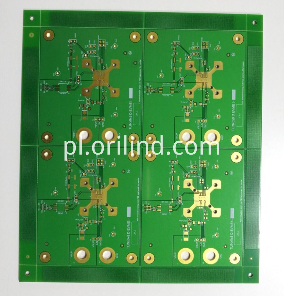 Flash gold pcb board