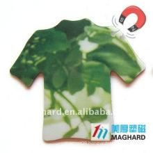 T-shirt PVC magnet souvenir sales promotion gifts