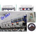 New Computer Embroidery Machine 6 Heads 12 Needles Cap and T-shirt Embroidery price