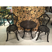 Outdoor Patio Cast Aluminum Bistro Set