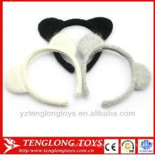 Оптовые симпатичные трикотажные уши для ушей для кошек