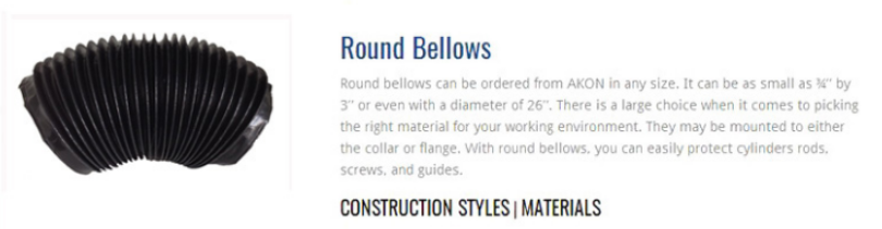 Round Bellows