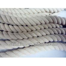 cordon de coton multicolore blanc dia: 15mm