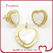 Stainless steel women set jewelry wholesale manufacturer