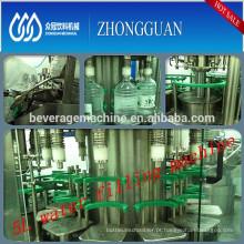Linha de produção de água totalmente automática de 3-8 litros com cano Escolha de qualidade