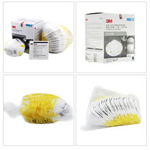 3m 8210 N95 Dust Mask of Head Set