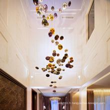 Art Design Personnalisable Shinning LED Lustre Lumière