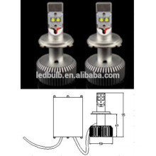 2015 heißer Verkauf !! 30W hohe Leistung AC / DC11-14V 2500LM Kopf geführtes Licht