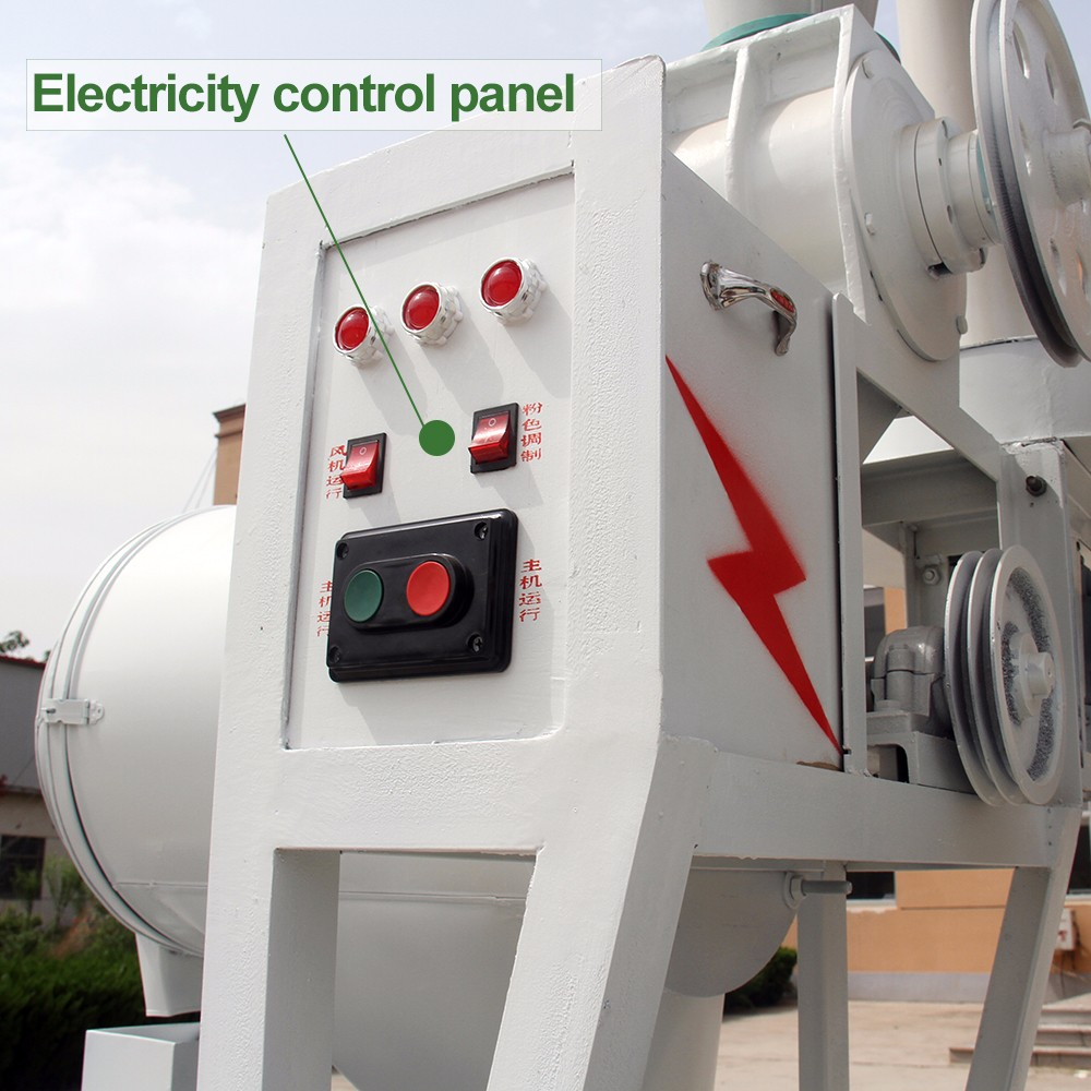 Electricity control panel