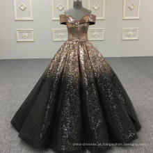 Brilhando vestido de baile vestido de noiva vestido de noiva 2018