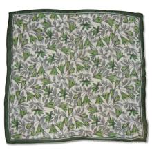 Dame en mousseline de soie carré Fashion imprimé foulard (YKY4134)