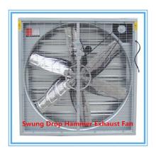 Ventilador extractor de martillo pesado de 50 '' para la casa avícola