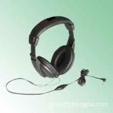 Wired Headphones with 40mm Drive Unit and Optional Volume Control