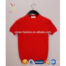 Modelo de blusas de marca famosa manga curta agradável
