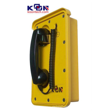Auto-Dial acero inoxidable área resistente a prueba de agua teléfono