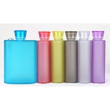 Customized Fashion Sport Plastic Flagon Water Bottle with Rope