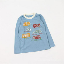 Boys Thin Two-color Long Sleeve T shirts With Cars Print From China
