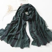 Coleção Outono / Inverno Lenço de lã listrada