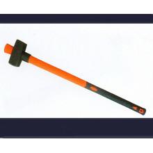 Dihe apedrejando martelo com alça