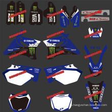 Наклейки для мотоциклов и мотоциклов и мотокросса для мотоциклетного костюма YAMAHA Yz125-250 2002 2003 и 2004, 2005, 2006, 2007, 2008, 2009, 2010, 2011, 2012, 2013 и 2014 (DST0003)