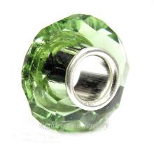 Los precios baratos al por mayor de China tallaron bricolaje gran agujero cuentas de vidrio europeo por mayor cuentas de cristal de murano