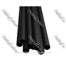 Roll Wrapped Carbon Fiber Tube 3K 12*14*1000mm Matte finish