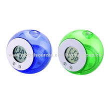 Promotional Desk Clocks, Made of Plastic, Customized Dials Available