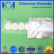 Venta caliente clo2 Tableta para desinfección de agua potable