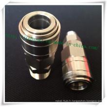 Raccord hydraulique en acier inoxydable (304/316)
