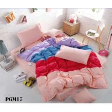 Tissu en coton lavé polyester pour drap de lit
