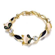 Fashion Stone Women Bracelet 18k Gold Plated Bracelet Jewelry