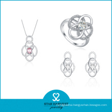 Fashion 925 Sterling Silver Jewelry Set for Free Sample (J-0024)