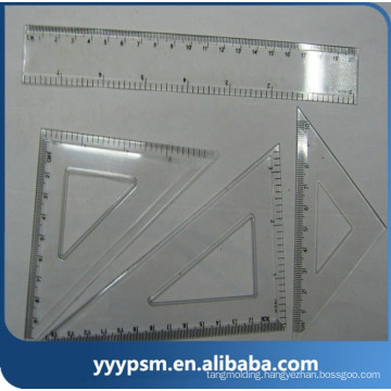 cheap plastic school office stationery multifunction ruler mould
