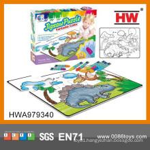 Interesting Puzzle Game Drawing Set Kids Educational Kit