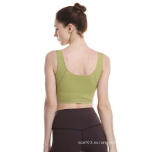 Fitness Workout Gym Crop Tops para mujer