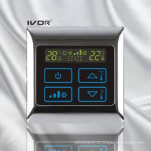 Interruptor de toque do termostato do condicionador de ar no quadro de metal (SK-AC2000B)
