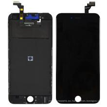 Fuente de fábrica OEM LCD para iPhone 6 Plus, Blanco y Negro