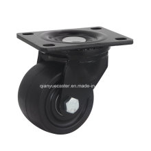 3 Inch Nylon Low Profile Rigid Caster, 500kgs Loading