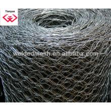 Malla de alambre hexagonal (ISO 9001)