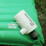 Hot sell in Korea outdoor partner-Smallest rechargeable portable air pump for inflated mattress and rubber boat