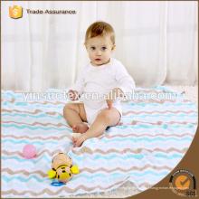 Maillot de moustache en mousseline de coton, mousseline de bébé, mousseline de bébé, couverture de bébé