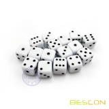 High Quality Wholesale Small Size Six Sided Acrylic Dice of 10MM
