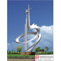 Garden Contemporary Stainless Steel Sculpture