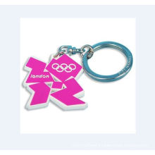 Key Ring with Accessory, Acrylic Keychain (GZHY-KA-079)