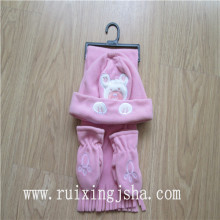 children fleece winter set