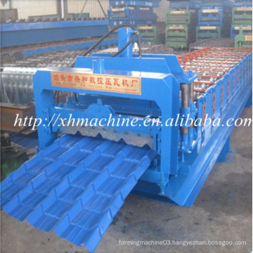 Lowest Price Corrugated Steel Sheet Glazed Tile Roll Forming Machine