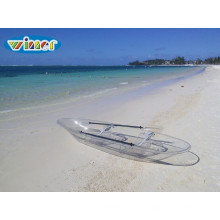Kayak de persona doble transparente