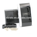 Technical Black Matte Chrome Smart Digital Electronic Cabinet Lock